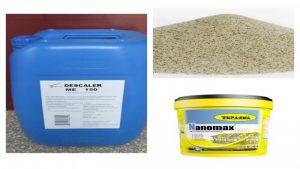 مواد نماشویی ساختمان اسید ، سیلیس ، نانو شوینده نما