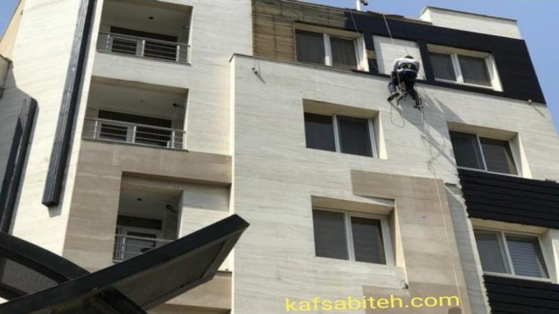 پیچ و رولپلاک نمای ساختمان در آبیک و هشتگرد