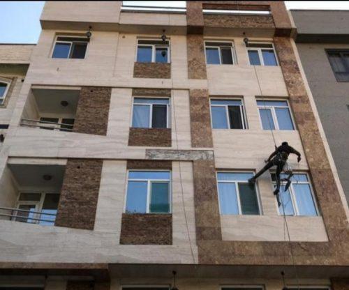 پیچ و رولپلاک سنگ نما و مقاوم سازی سنگ نما در سلطان آباد ، گلستان ، نسیم شهر و آدران
