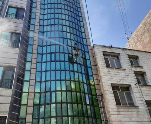 نماشویی شیشه و پنجره