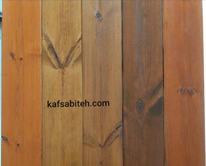 نصب چوب ترمو و رنگ آمیزی ترمو چوب