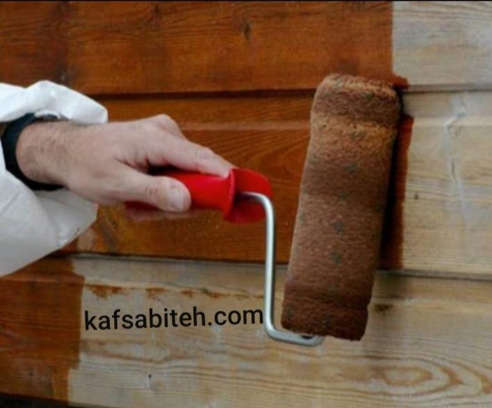 نقاشی و رنگ آمیزی ترمو چوب با طناب راپل