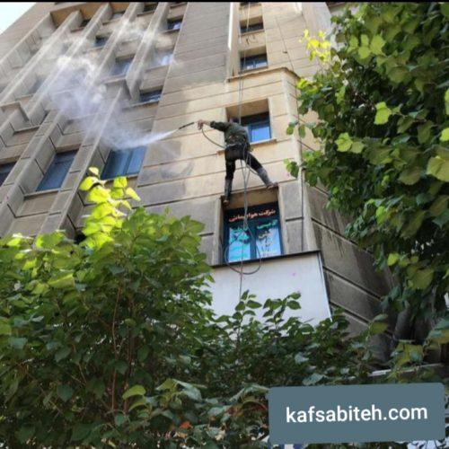 نماشویی ساختمان توسط شرکت نما شویی در تهران و کرج
