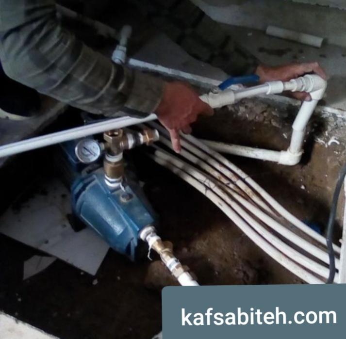 تعمیر منبع آب و پمپ آب