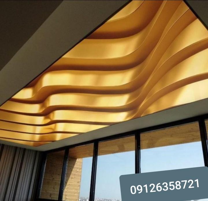 نورپردازی سقف | گچ بری سقف در بازسازی | بازسازی سقف خانه