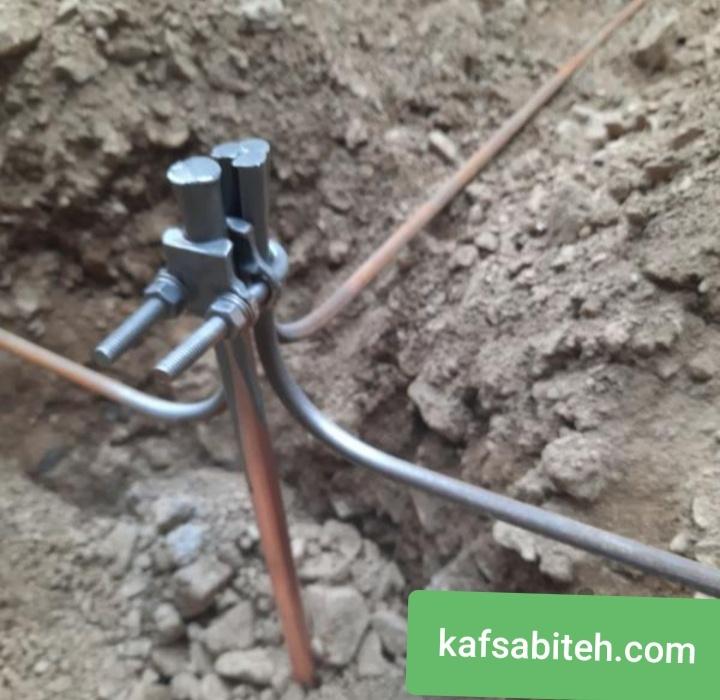 نصب ارت ساختمان با طناب تا چاه ارت