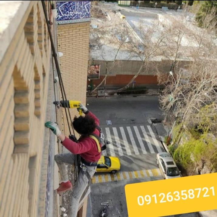 قیمت پیچ رولپلاک نما ساختمان در تهران