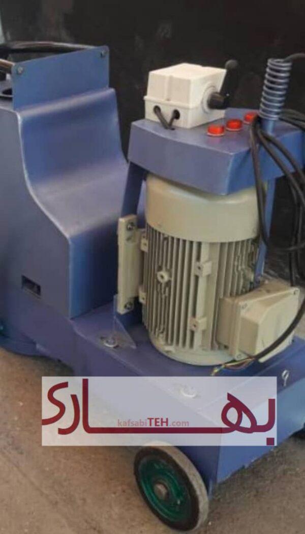 dastgah sabzan دستگاه کفسابی سه فاز که تمامی قطعات آن از مواد ایرانی با کیفیت ساخته شده است می تواند تا سالها بدون هیچ گونه هزینه نگه داری کارایی داشته باشد . و یک دستگاه مناسب برای ورود افراد به حرفه پر درآمد کفسابی سنگ می باشد. دستگاه ساب سه فاز در انواع موتورهای 5.5 - 7.5 - 10 اسب بخار موجود می باشد و می توانید بسته به قدرت مورد نیاز برای ساب زنی دستگاه مورد نظر را سفارش دهید .
