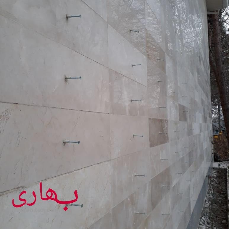 پیچ و رولپلاک سنگ نما در قزوین